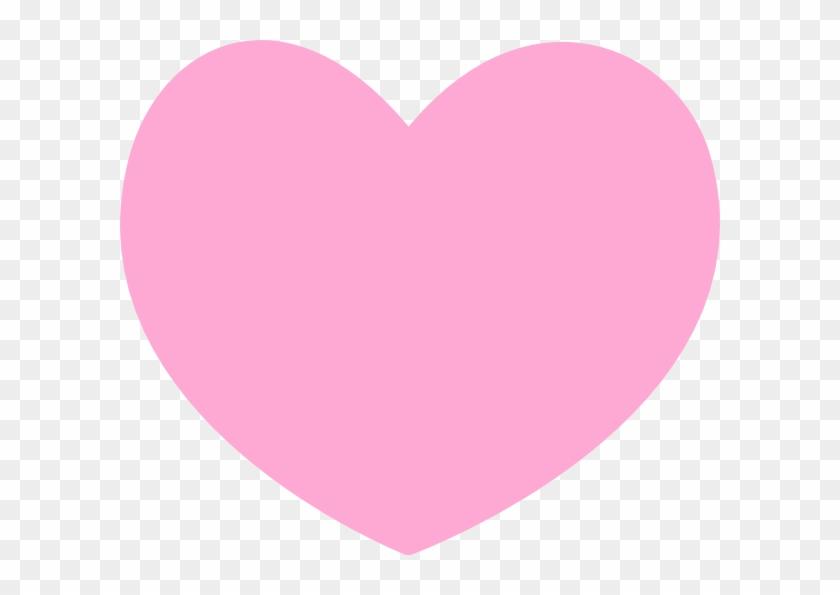 Pink Heart Clip Art - Cute Pink Heart Png Transparent Png #728259