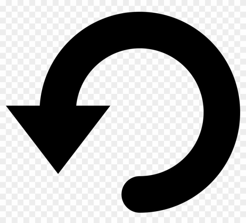 Undo Arrow Symbol Comments - Circle Clipart #734792