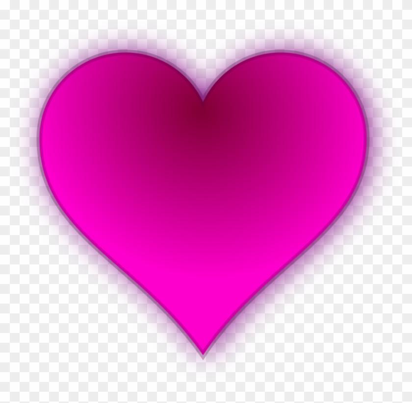 Love Hearts Symbol Love Hearts Pink - Heart Clipart #734947