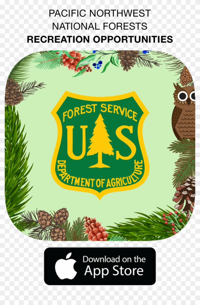 Download This Free @forestservicenw App To Easily Search - United States Forest Service Clipart #735428