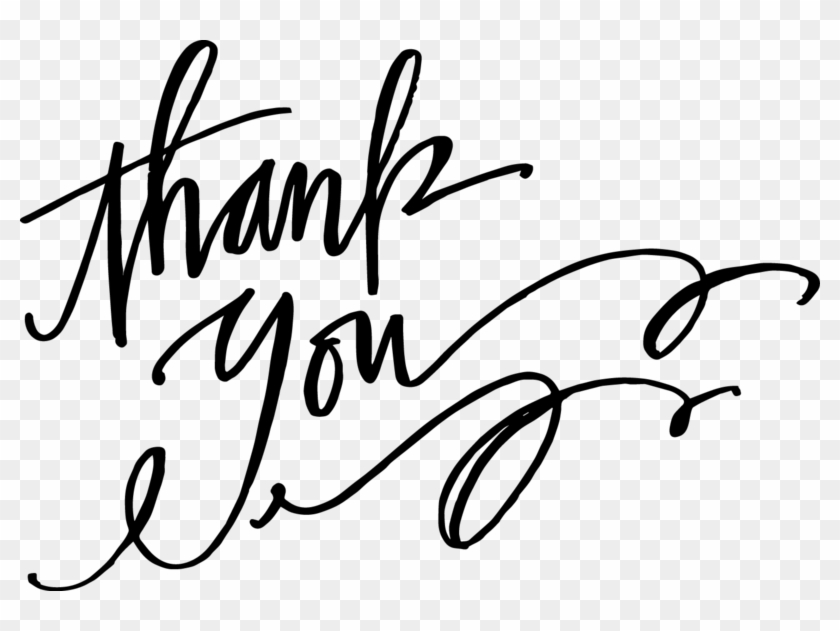 Thankyou Thank You Word Art Png Clipart 736170 Pikpng