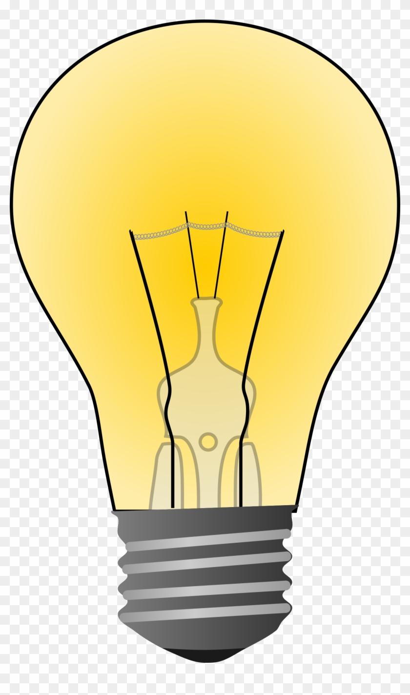 Free To Use & Public Domain Light Bulb Clip Art - Incandescent Light Bulb Clipart - Png Download #739039