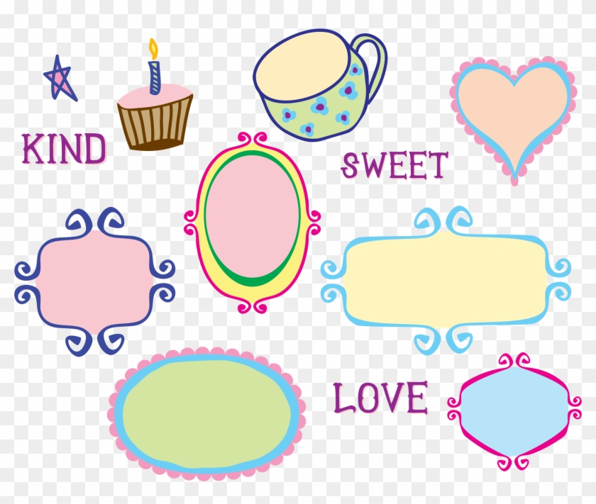 This Free Icons Png Design Of Kitschy Doodle Frame Clipart #740062