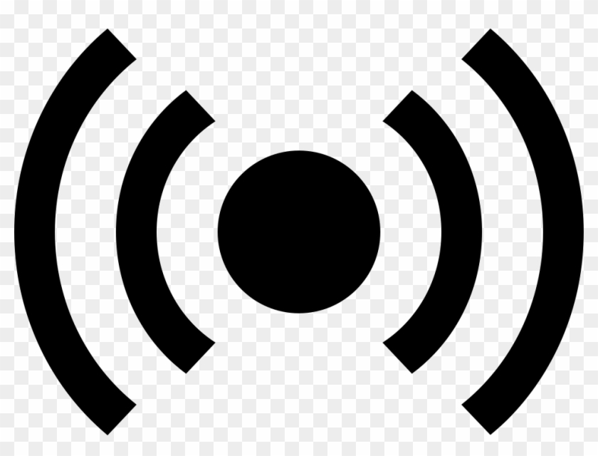 Radio Waves Comments - Radio Wave Png Icon Clipart #742080