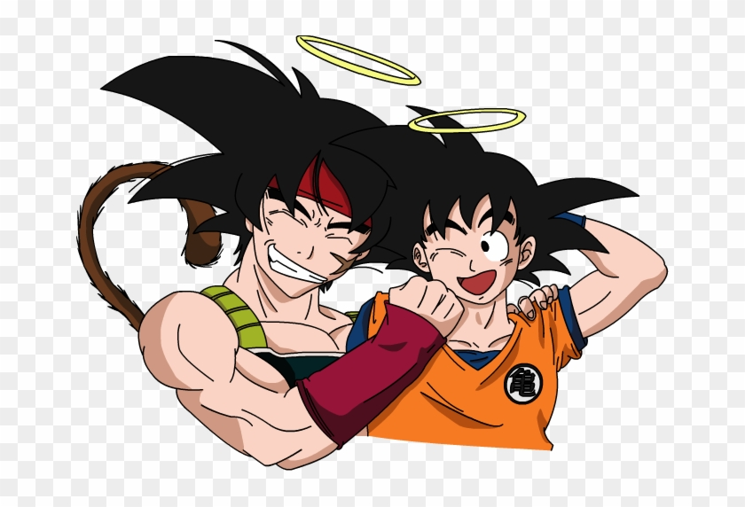 Bardock Lovers Images Father And Son Wallpaper And - Goku Y Bardock Clipart #742410