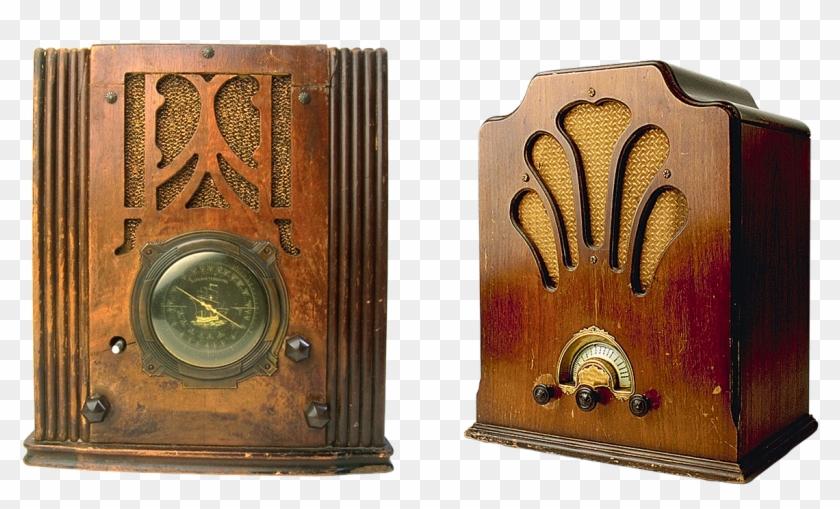 Old Radio Radio Vintage - Antique Radios Clipart #742909