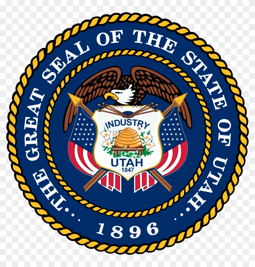 Coat Of Arms Or Logo - Great Seal Of The State Of Utah Clipart@pikpng.com