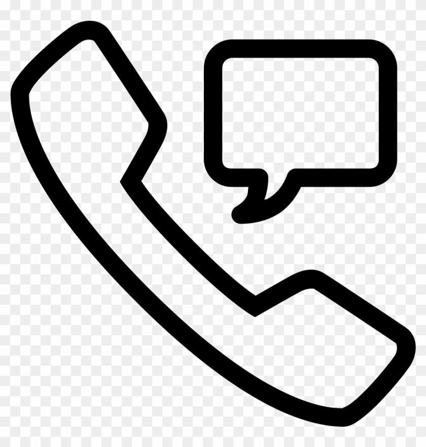 Phone Message Icon Free - Phone And Message Icon Png Clipart #749447