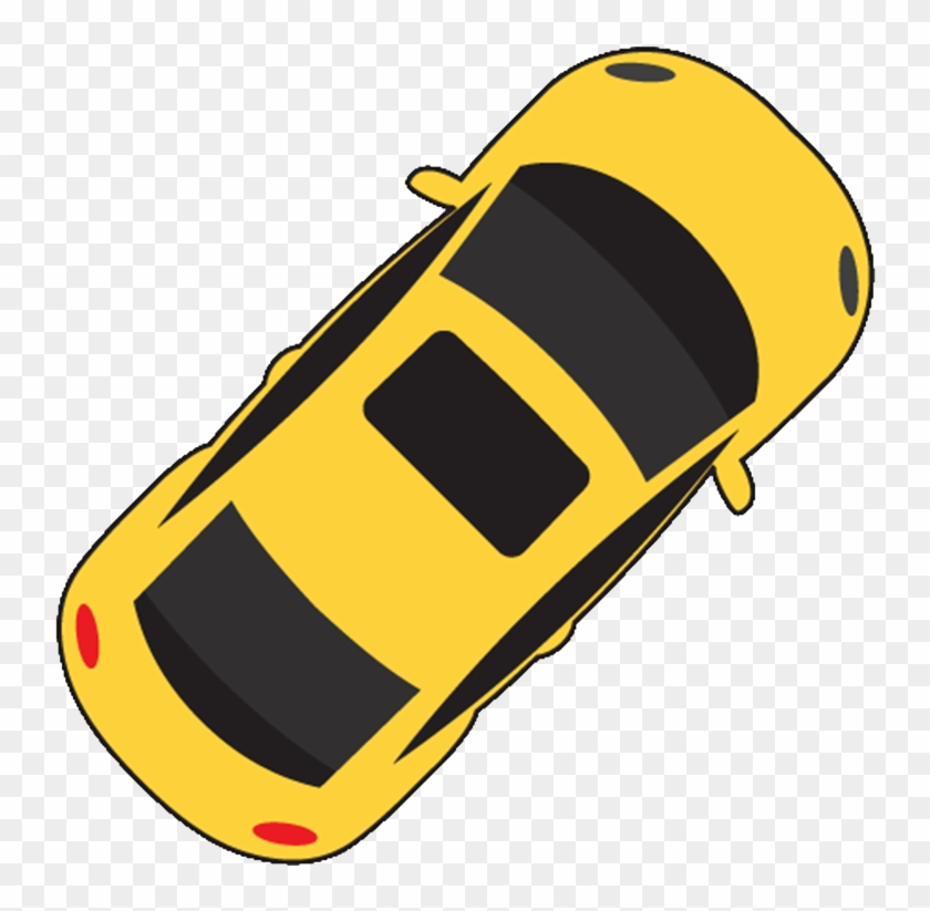 Car Icon Vector Top View , Png Download - Car Aerial View ...