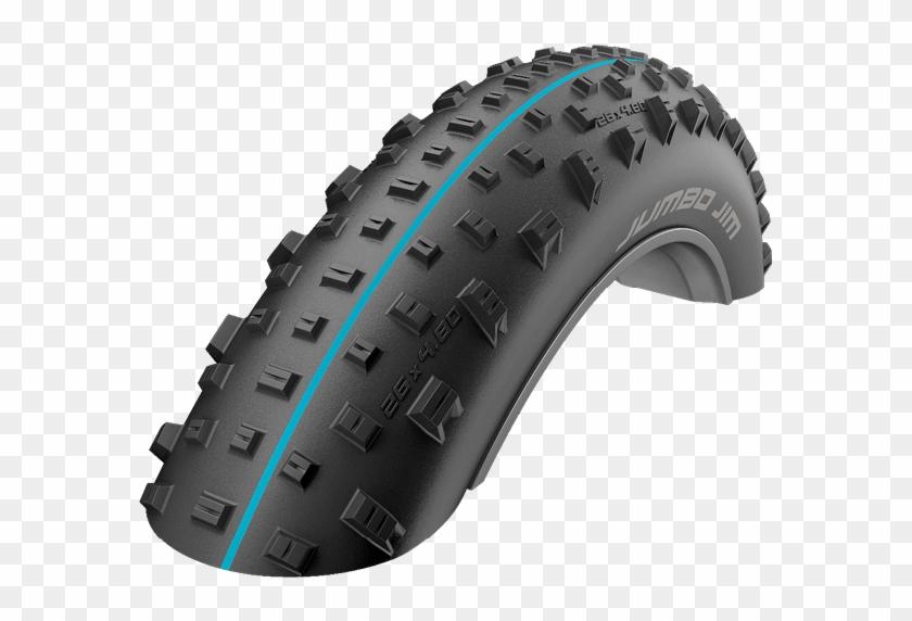 The Fat Bike Tyre - Schwalbe Jumbo Jim 26x4 0 Clipart #750991
