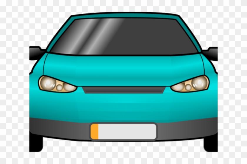 Car Clipart Clipart Top View - Car Front View Clipart Png Transparent Png #751046