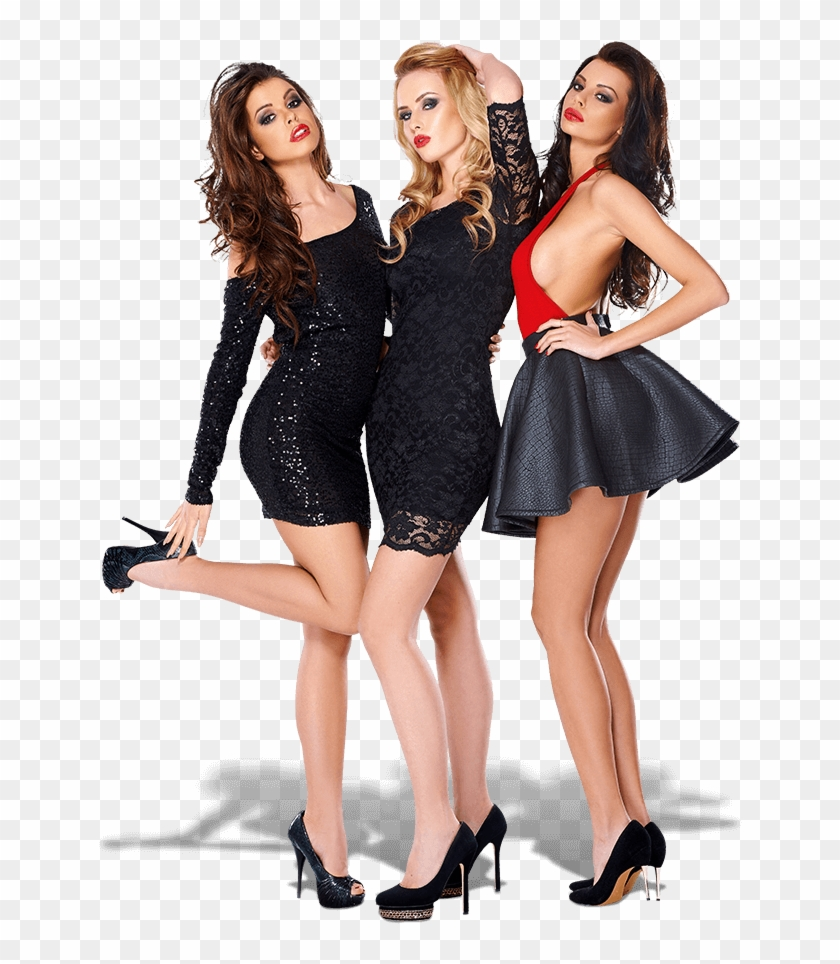 Hire A Model For An Event, Tradeshow, Promotion Or - Three Sexy Women, HD Png Download #766499