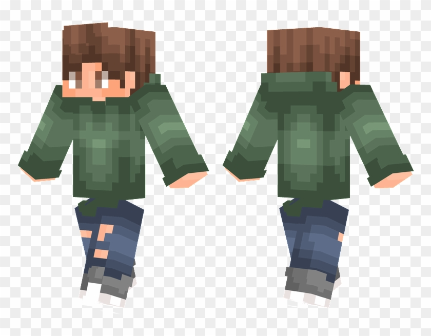 Ripped Jeans - Fnaf Puppet Skin Minecraft Pe Clipart #767339