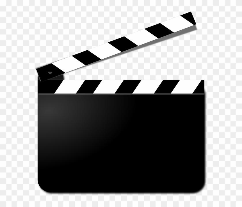 Movies Png - Movie Clapper Clip Art Transparent Png@pikpng.com
