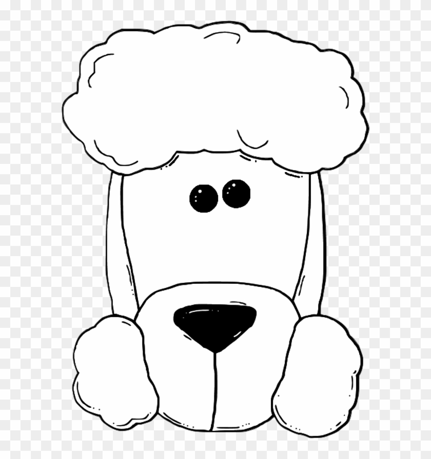 Cartoon Clipart Of A Black And White Scared Dog Running - Vector Outlined  Coloring Page by Cory Thoman #1141372
