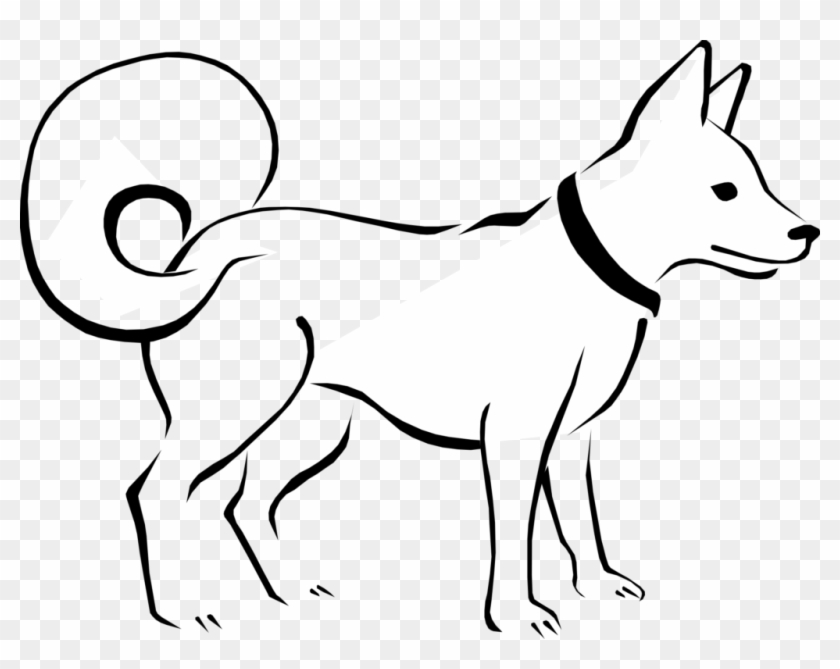 Free Black And White Png Of Dogs Transparent Black Dog Clip Art