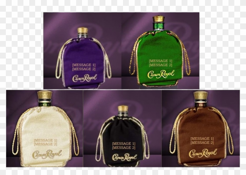 Crown Royal Dice Bag Clipart Crown Royal Rye Whiskey - Png Download #772490