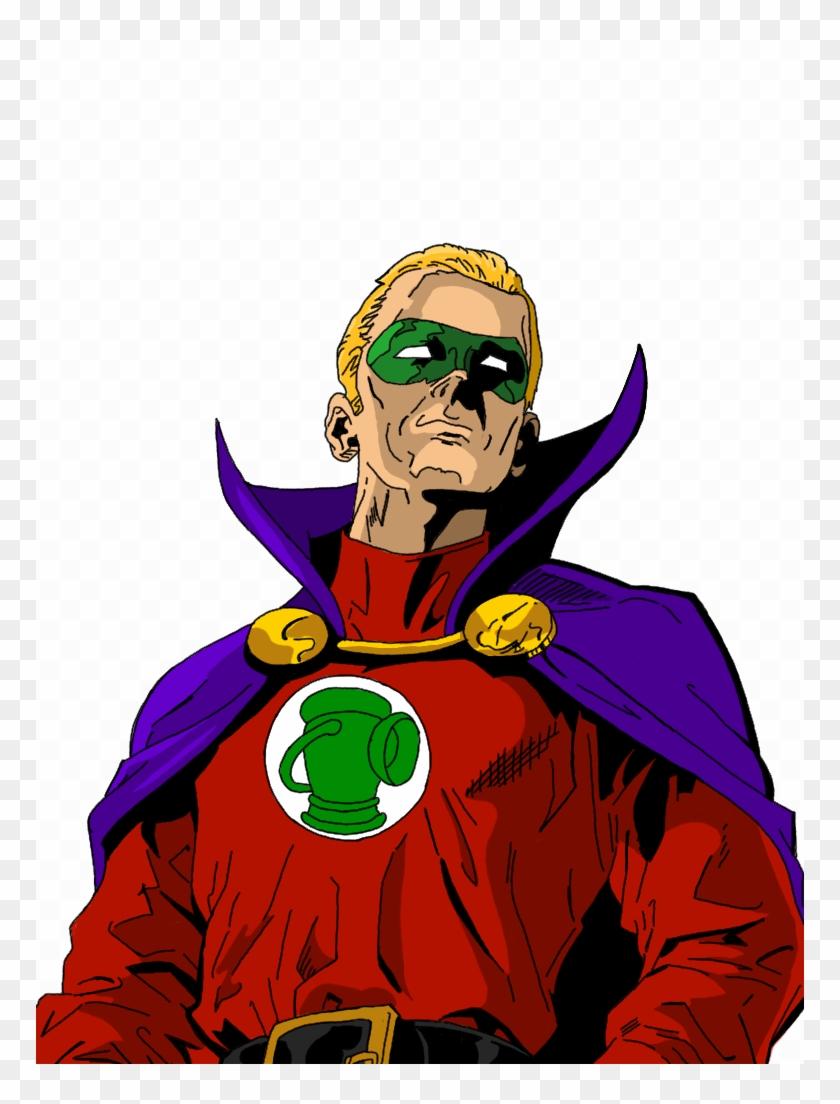 Green Lantern - Alan Scott Green Lantern Png Clipart #773480