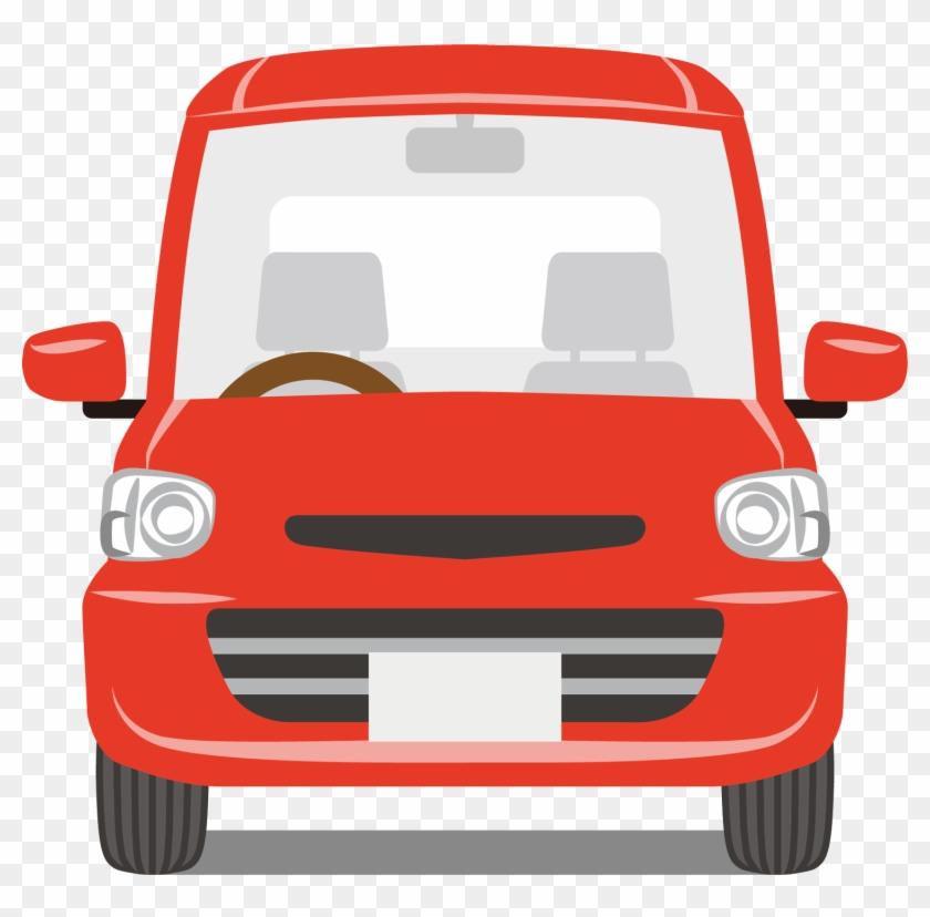 Car Front Car Cartoon Png Clipart 773734 Pikpng