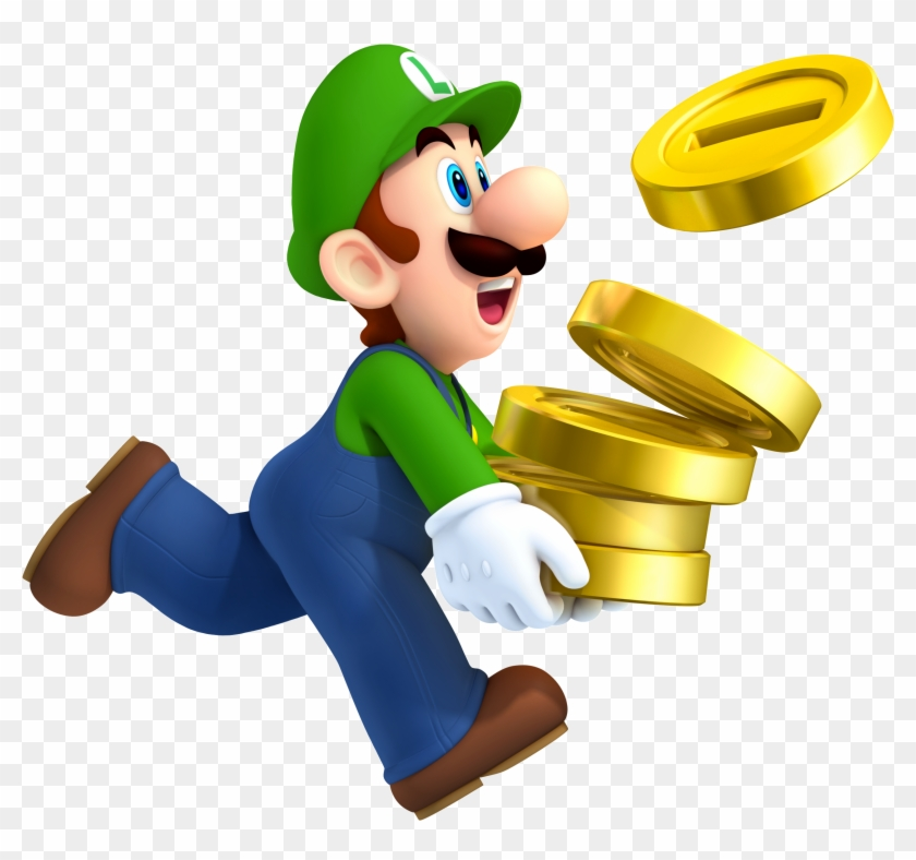 Luiginsmb2 Luigi Super Mario Png Transparent Png 776068