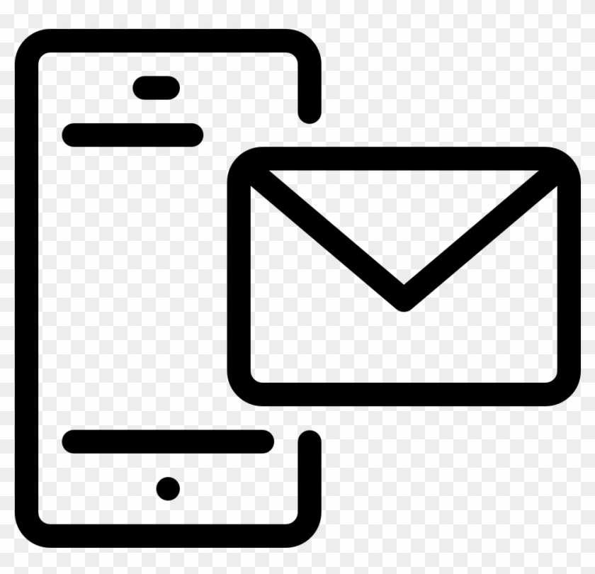 Communication Smartphone Email Communication Smartphone - Icon Of Mail Delivery Clipart #777488