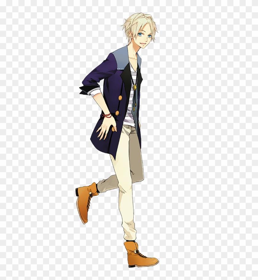 Beautiful Anime Boys - Anime Boy Walking Side View Clipart #778643