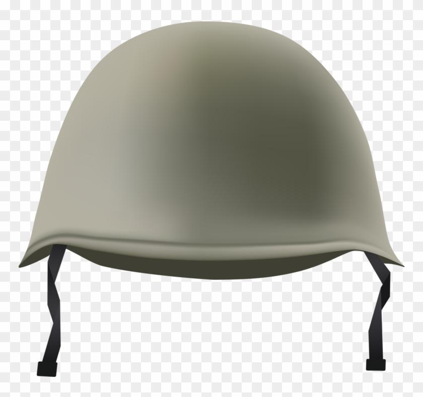 Combat Military Symbol Illustration - Military Helmet Png Clipart #779924