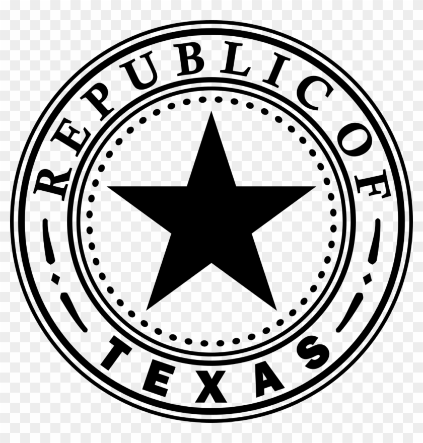 List Of Texas State Symbols Wikipedia The Free Encyclopedia - Republic Of Texas State Seal Clipart #780507