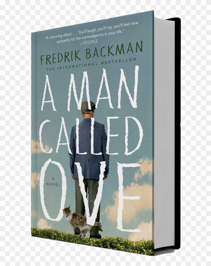 Ove Is A 59 Year Old Curmudgeon - Man Called Ove Book Cover Clipart #781289