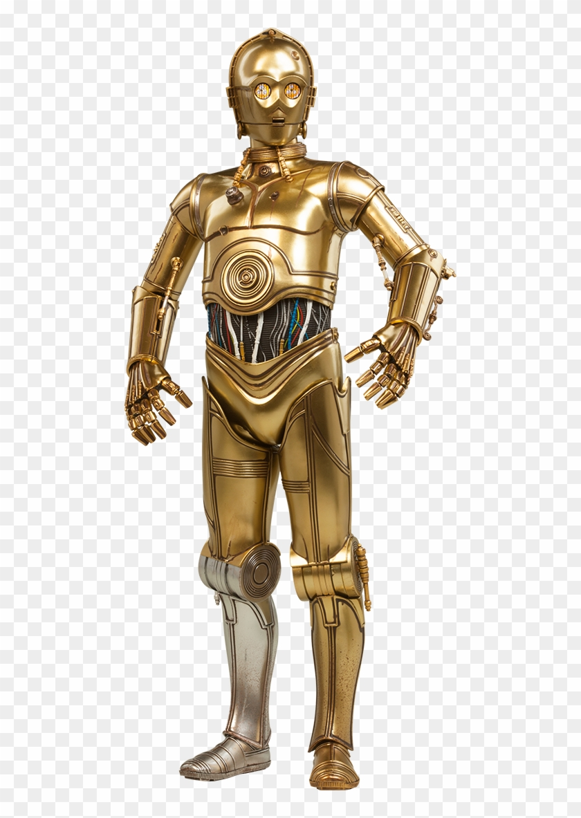 C-3po Sixth Scale Figure By Sideshow Collectibles - Star Wars C3po Clipart #786384