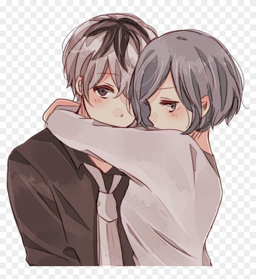 Anime Girl And Boy Kissing Imagenes De Anime De Romance Clipart 788665 Pikpng