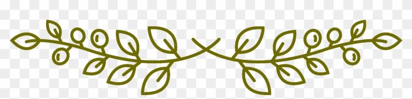 Olive Branch 1 - Olive Branch Transparent Clipart #789294