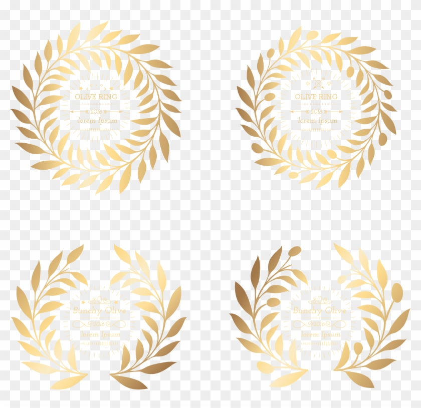 Wheat Clipart Olive Branch - Clip Art - Png Download #789353