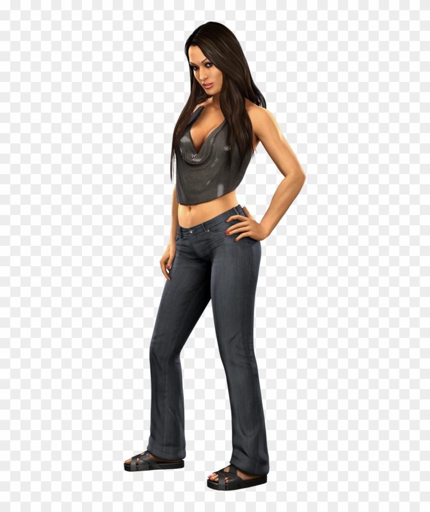 Svr2011 Render Nikkibella Smackdown Vs Raw 2011 Divas Clipart 790099 Pikpng
