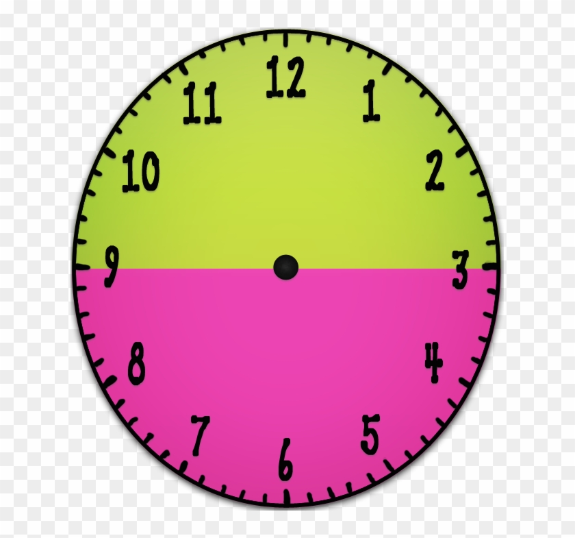 Analog Clock Without Hands Clipart Source - Clock Without ...