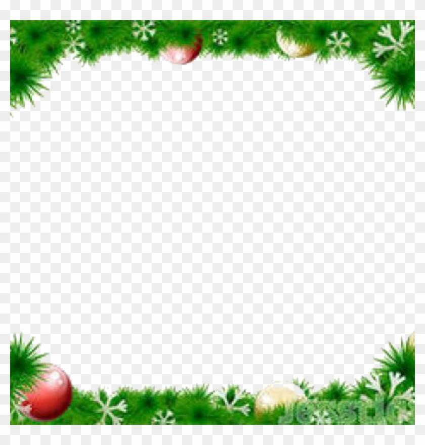 1024 X 1024 20 - Christmas Wreath Vector Border Clipart #790718