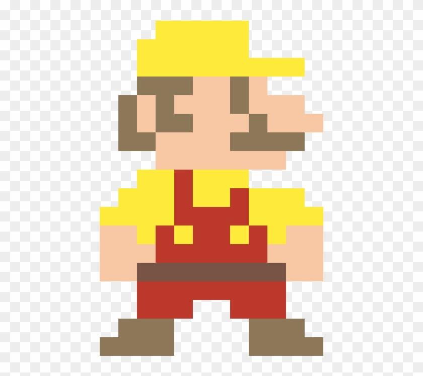 8 Bit Mario Maker Mario Super Mario Pixel Art Jump Clipart