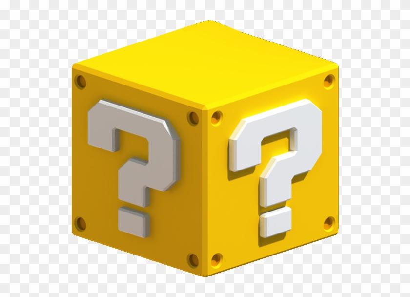 570 X 550 6 - Mario Question Block Png Clipart #792044