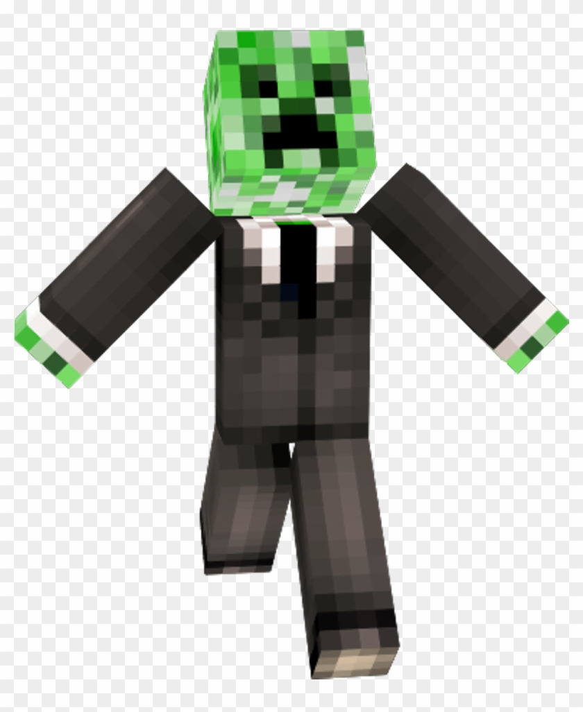 Minecraft Minecraft Creeper In A Suit Skin Minecraft Creeper Face Clipart 794354 Pikpng