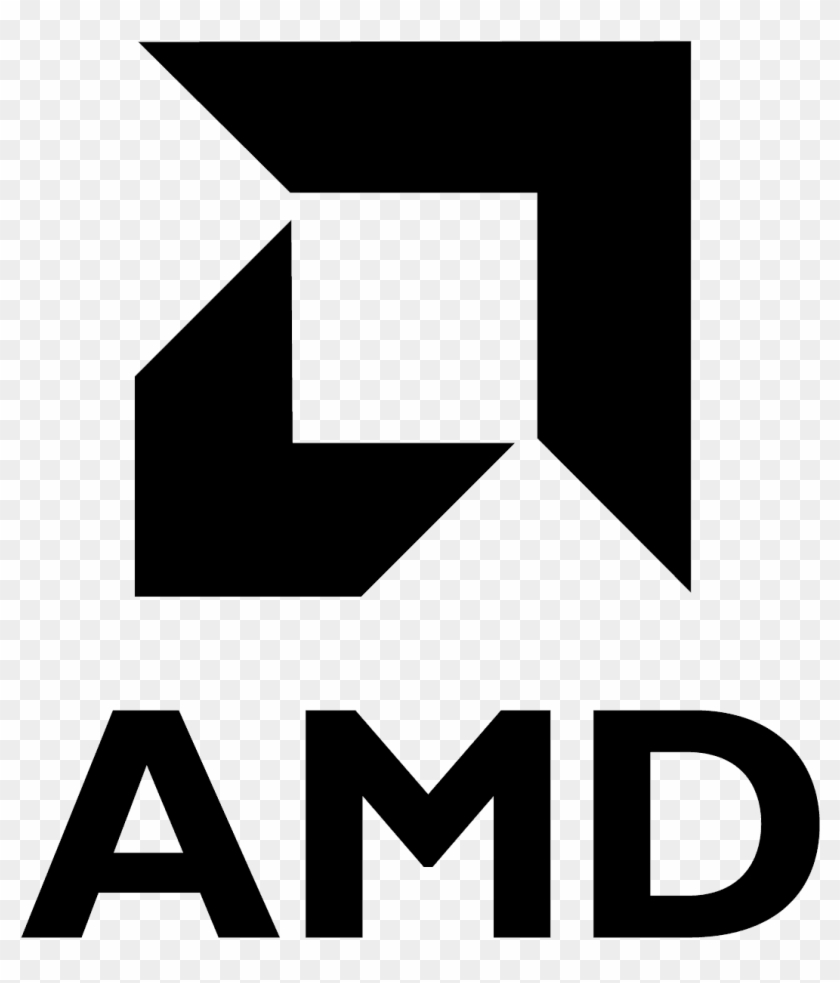 Amd Logo Png Amd White Logo Png Clipart 797452 Pikpng