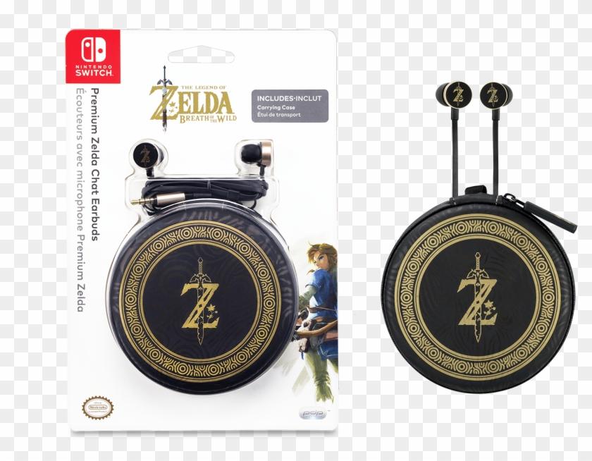 Pdp Nintendo Switch Premium Zelda Breath Of The Wild - Premium Zelda Chat Earbuds Clipart #797777