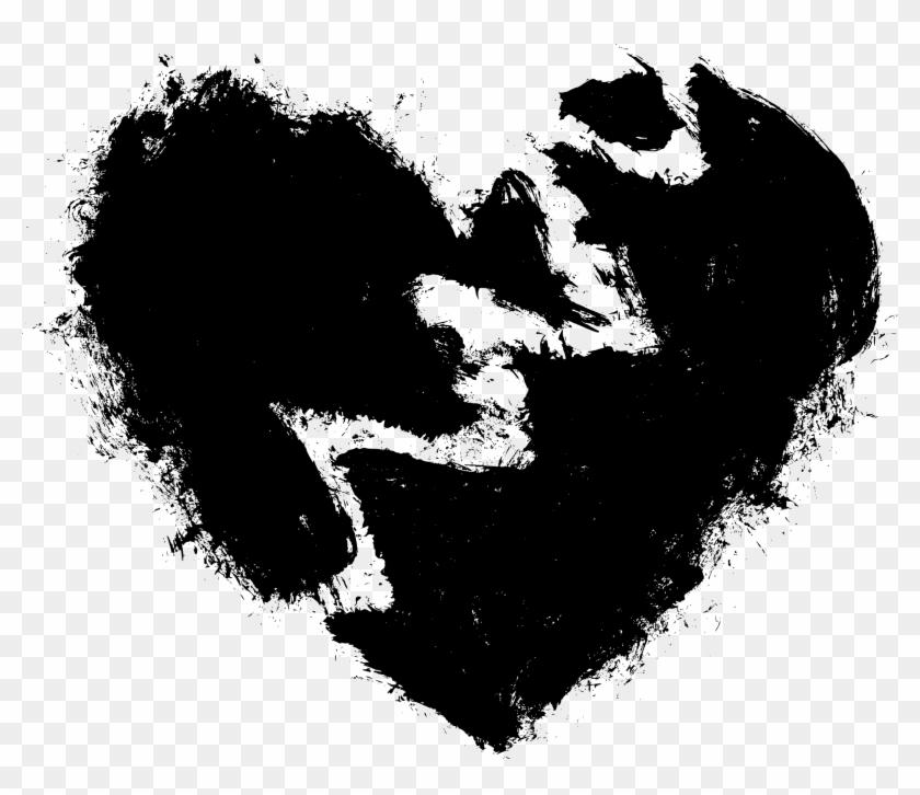 Black Hearts Hair - Xxxtentacion Broken Heart Png Clipart #799131