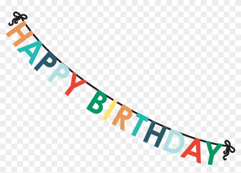 Happy Birthday Banner Clipart #799764