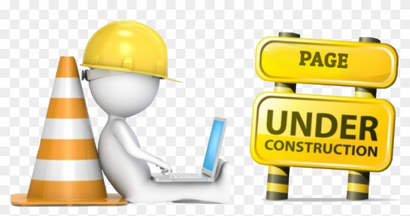 New Content Coming Soon - Website Under Construction Banner Clipart@pikpng.com