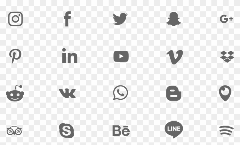 Facebook Icon Png White - Png Facebook Logo Instagram Clipart #81033