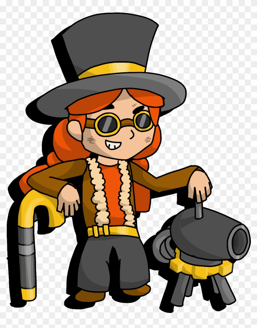 [art] Skin Concept - Old Is Jessie From Brawl Stars Clipart #82713