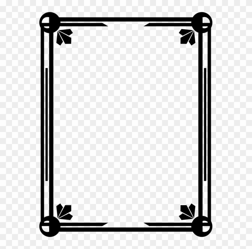 All Photo Png Clipart - Certificate Border Design Black Transparent Png #83420