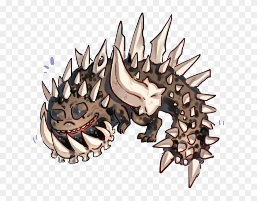 monster hunter world odogaron fanart