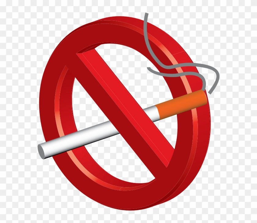 No Smoking Png - No Smoking Png 3d Png Clipart #84996