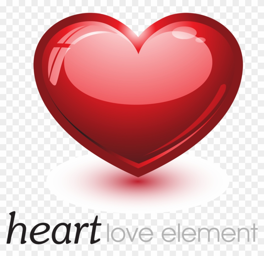 Heart Love Png Transparent Hd Photo - Love Logo Png Hd Clipart #86037